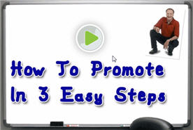 Marlon Sanders: How to Promote in 3 Easy Steps
